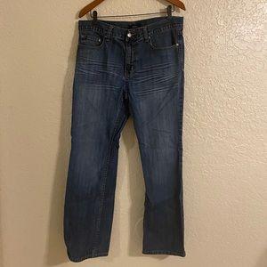 Alfani Bootcut Dark Wash Jeans 32W x 30L (men's)